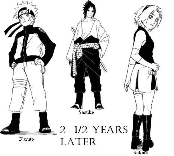 'naruto' group-2 and a half years later.